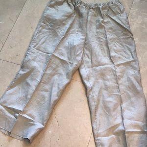 Pants. J Jill. Linen